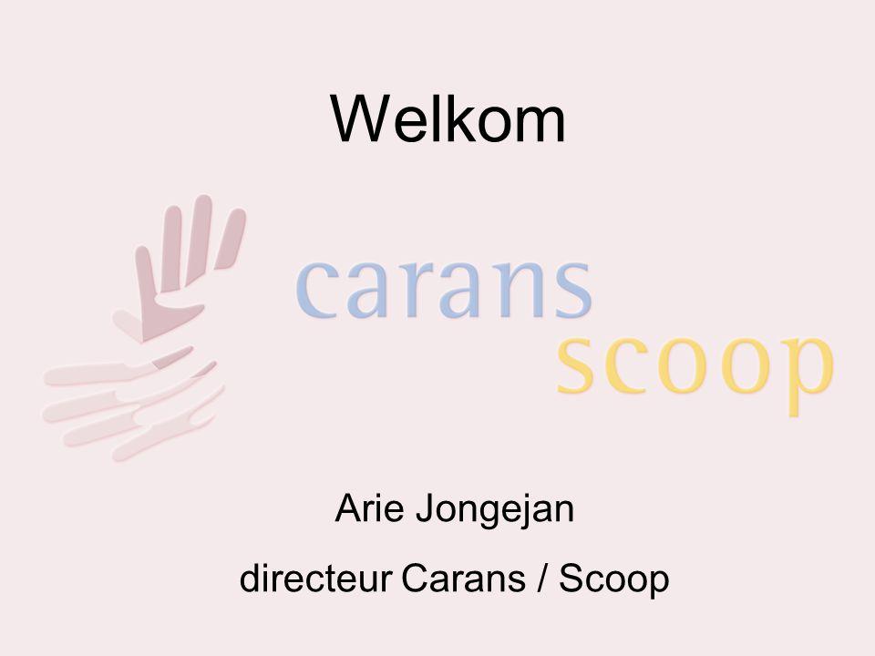 Informatiebijeenkomst 27-06-'07 - opening Welkom Arie Jongejan directeur Carans / Scoop