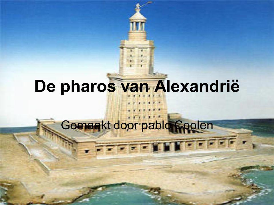 De pharos van Alexandrië Gemaakt door pablo Coolen