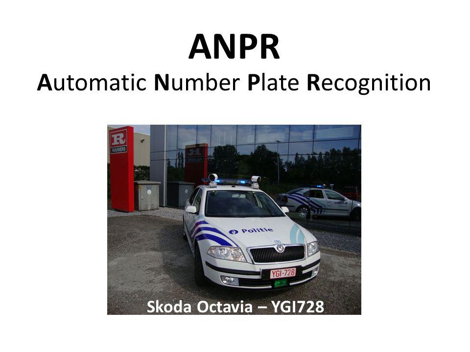 ANPR Automatic Number Plate Recognition Skoda Octavia – YGI728