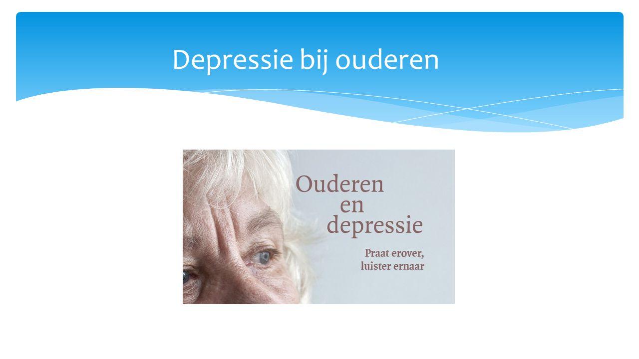  Depressie: is er sprake van een depressie wanneer de neerslachtigheid minstens 2 weken aanhoudt waardoor het dagelijks functioneren en de levenslust onder druk komen te staan.