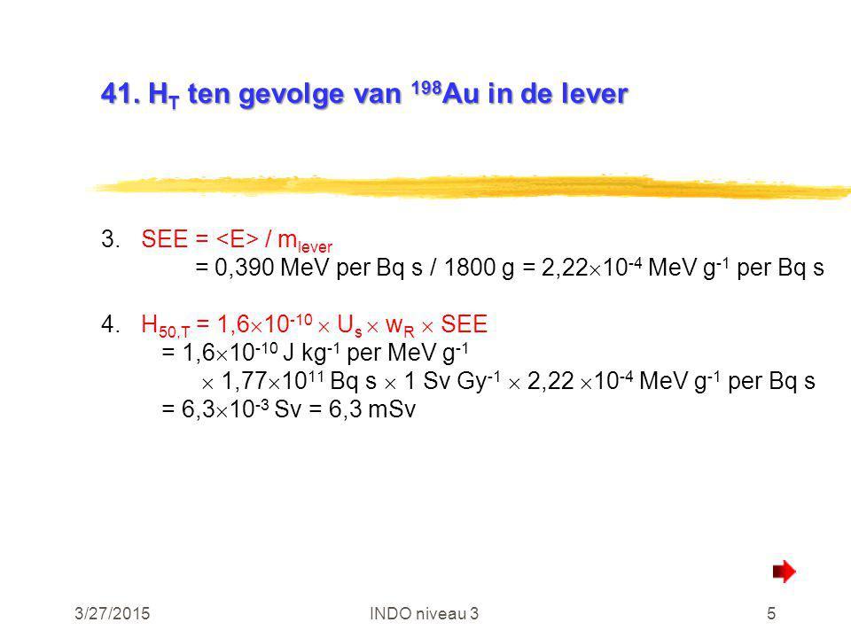 3/27/2015INDO niveau 326 49.Tritiumoxyde in de lucht 49.