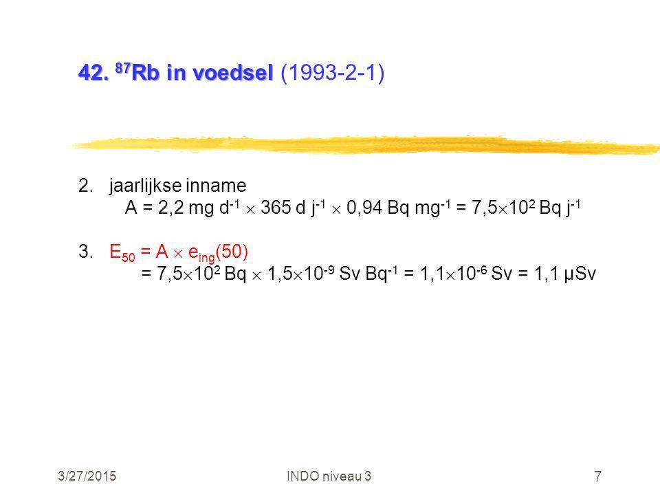 3/27/2015INDO niveau 318 46.e(50) van 3 H voor kind 46.