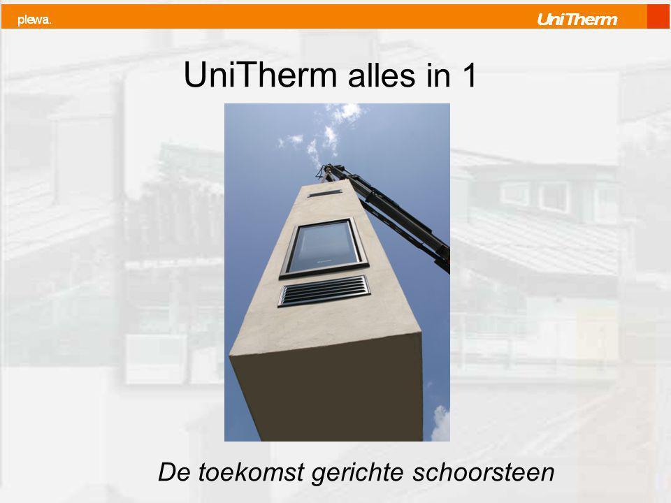 UniTherm alles in 1 De toekomst gerichte schoorsteen
