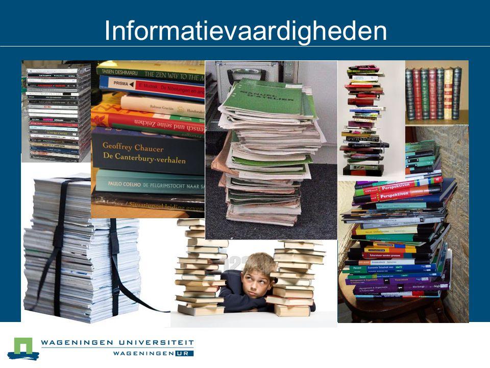 Informatievaardigheden