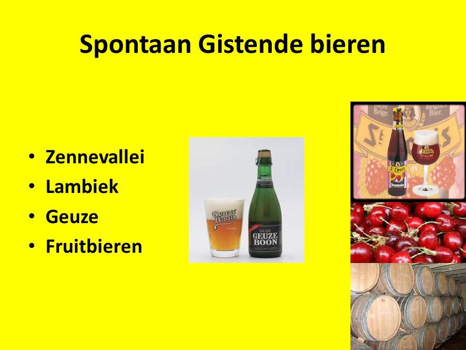 Spontaan Gistende bieren Zennevallei Lambiek Geuze Fruitbieren