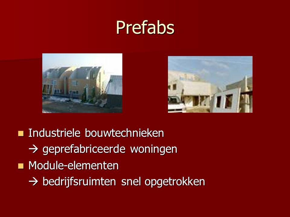 Prefabs Industriele bouwtechnieken Industriele bouwtechnieken  geprefabriceerde woningen  geprefabriceerde woningen Module-elementen Module-elemente