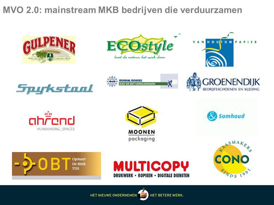 MVO 2.0: mainstream MKB bedrijven die verduurzamen
