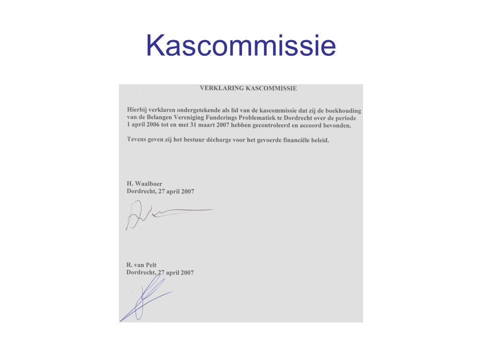Kascommissie