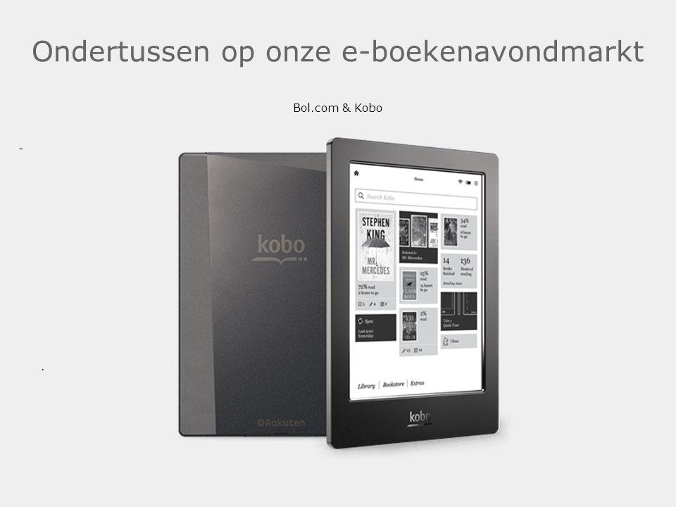 Ondertussen op onze e-boekenavondmarkt Bol.com & Kobo.