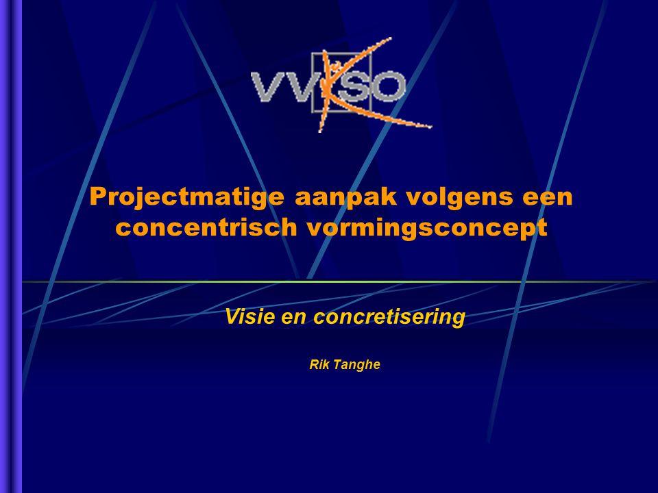Projectmatige aanpak volgens een concentrisch vormingsconcept Visie en concretisering Rik Tanghe