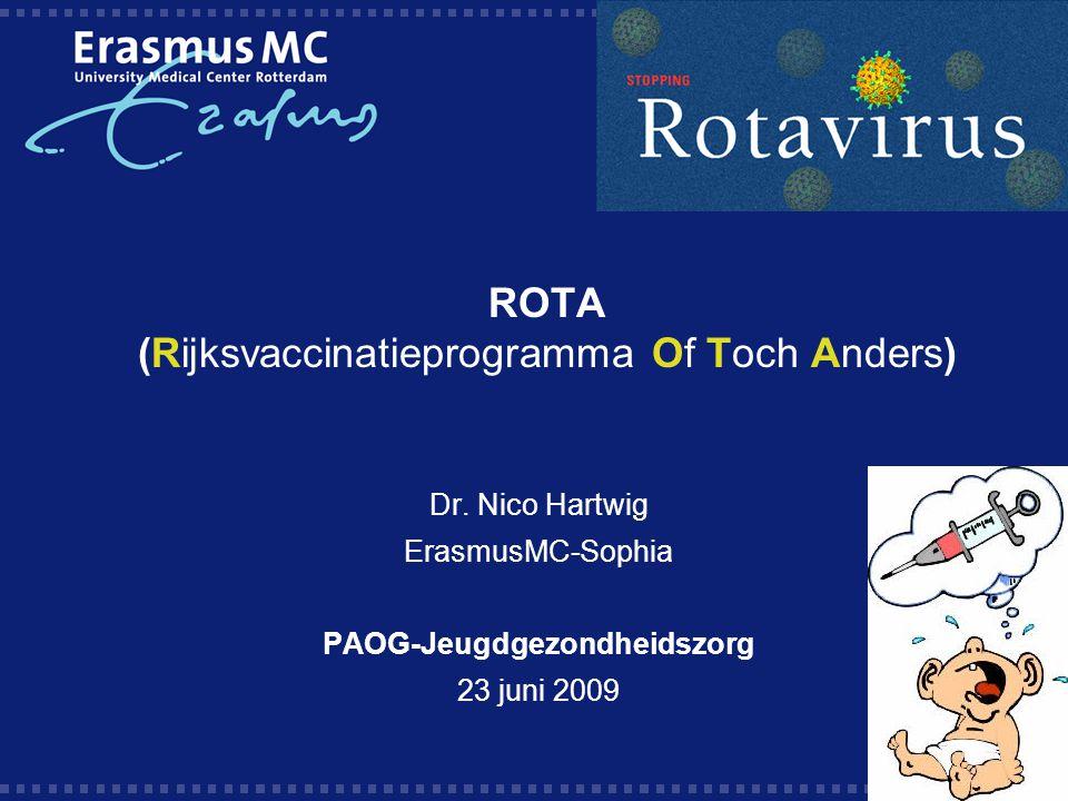 ROTA (Rijksvaccinatieprogramma Of Toch Anders) Dr.