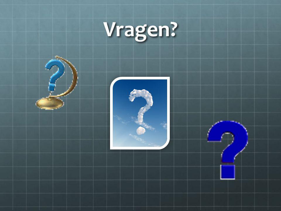 Vragen?