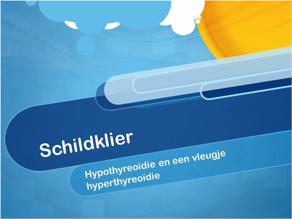 Medicamenteuze behandeling Substitutiedosis = 1,6 mcrg per kg/dag levothyroxine (gemiddeld).