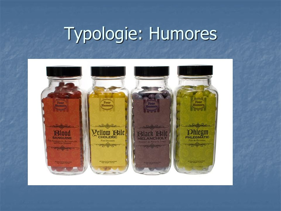 Typologie: Humores