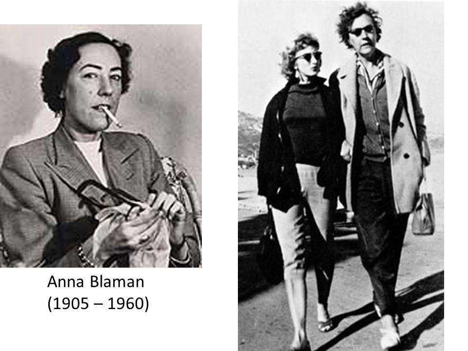 Anna Blaman (1905 – 1960)