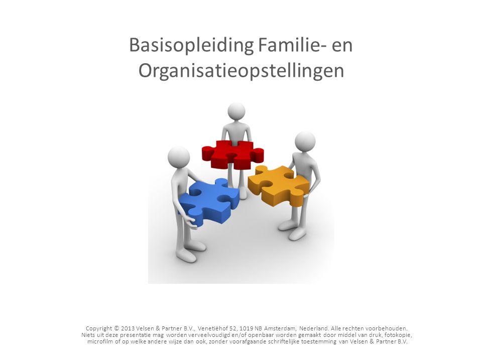 Copyright © 2013 Velsen & Partner B.V., Venetiëhof 52, 1019 NB Amsterdam, Nederland. Alle rechten voorbehouden. Niets uit deze presentatie mag worden
