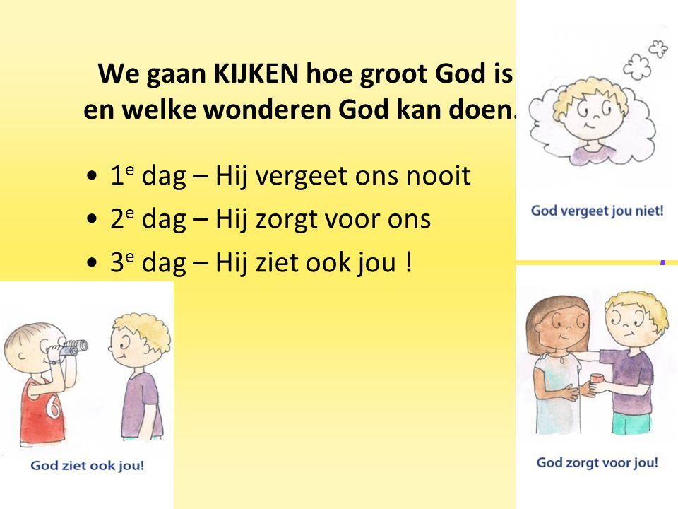 Als ouders werken in de voorjaarsvakantie mogen de kinderen komen van 8.00 uur-12.15 uur.