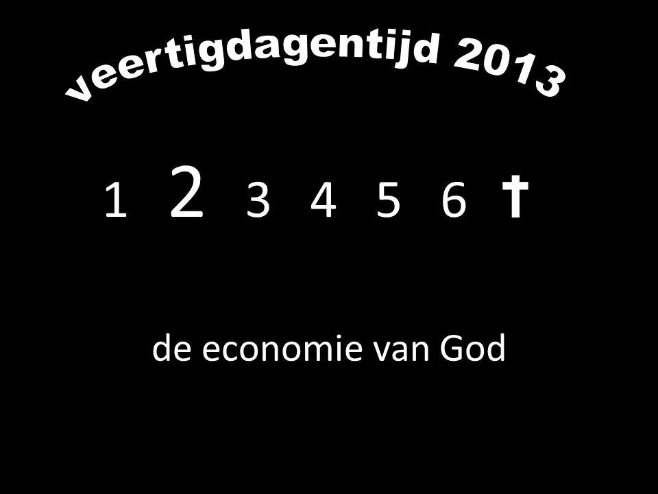 1 2 3 4 5 6 de economie van God