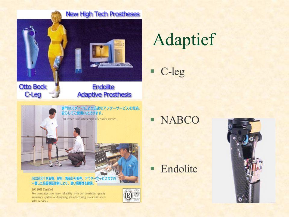 Adaptief §C-leg §NABCO §Endolite