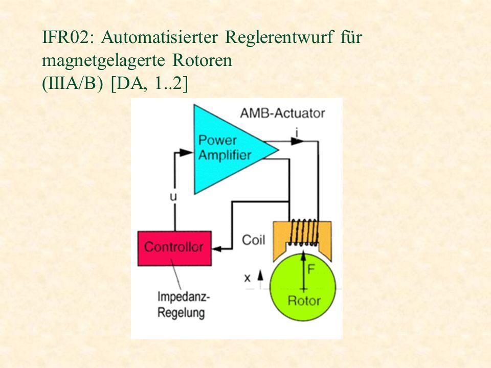 IFR02: Automatisierter Reglerentwurf für magnetgelagerte Rotoren (IIIA/B) [DA, 1..2]