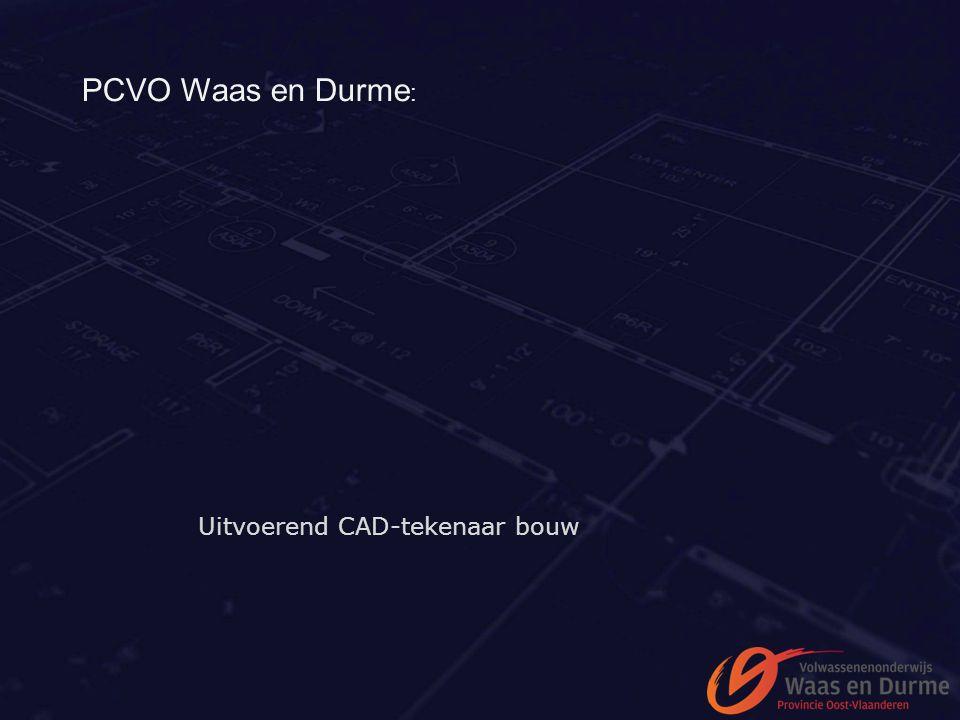 PCVO Waas en Durme : Uitvoerend CAD-tekenaar bouw