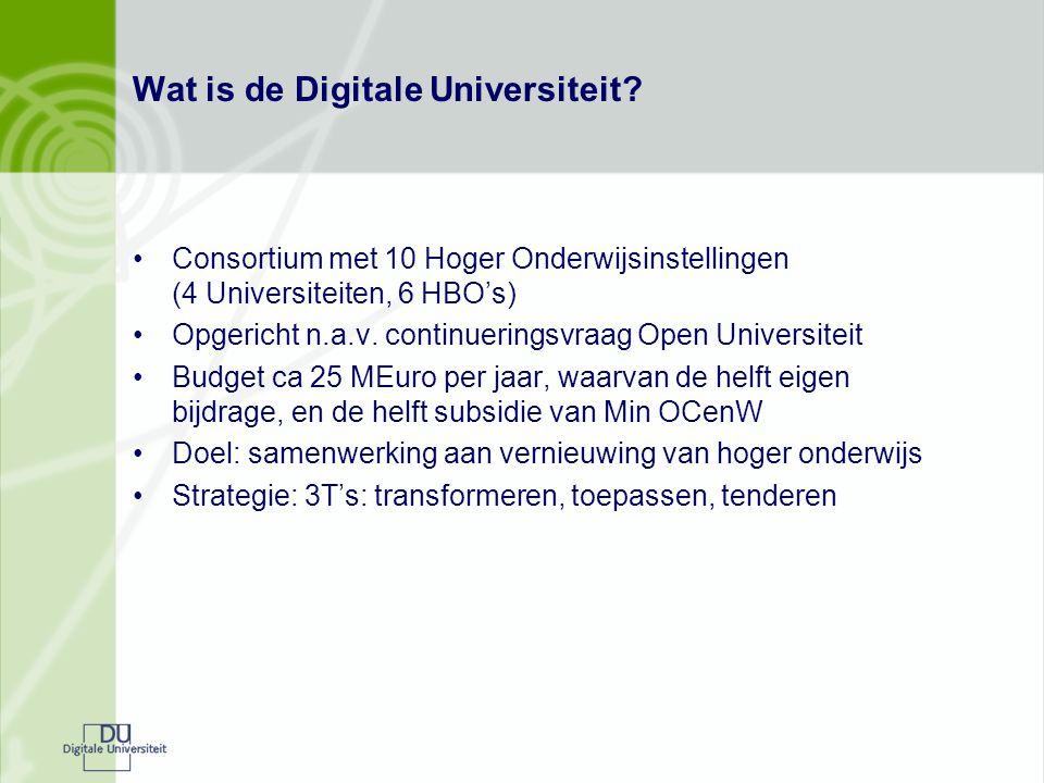 Wat is de Digitale Universiteit.