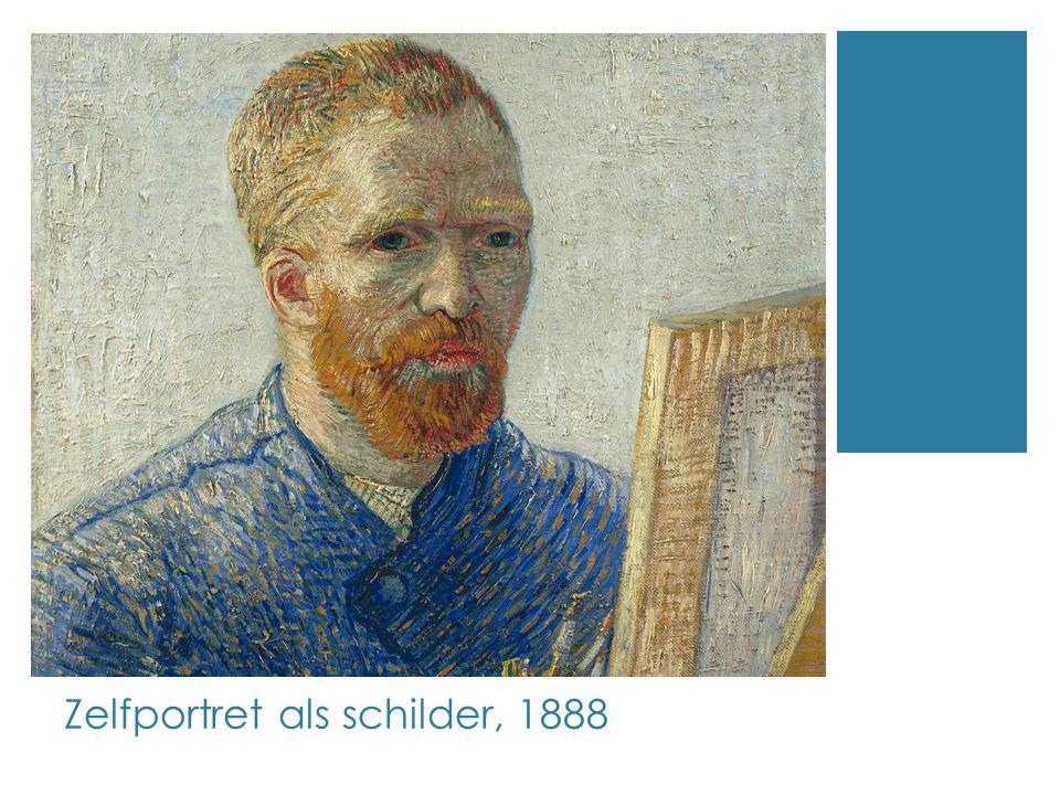 Zelfportret als schilder, 1888