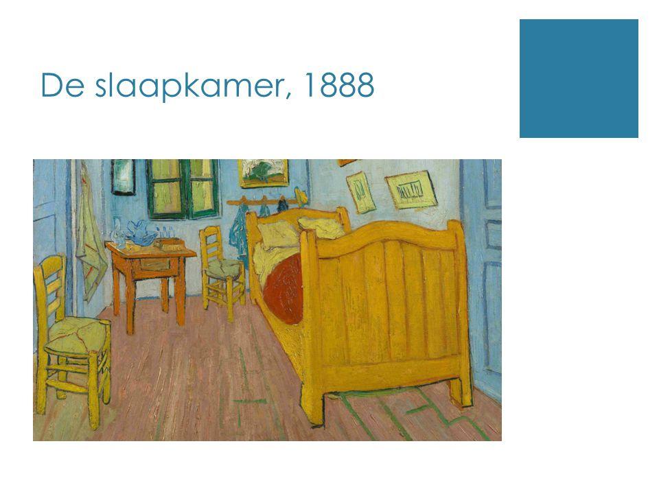 De slaapkamer, 1888