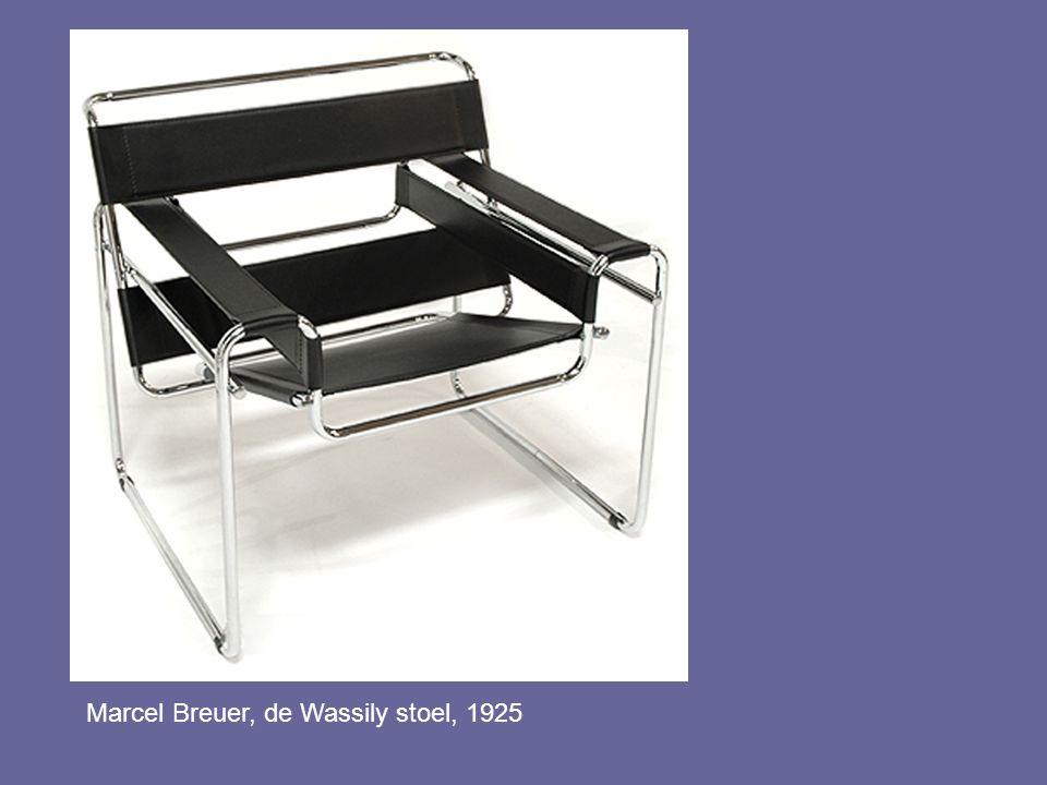Marcel Breuer, de Wassily stoel, 1925