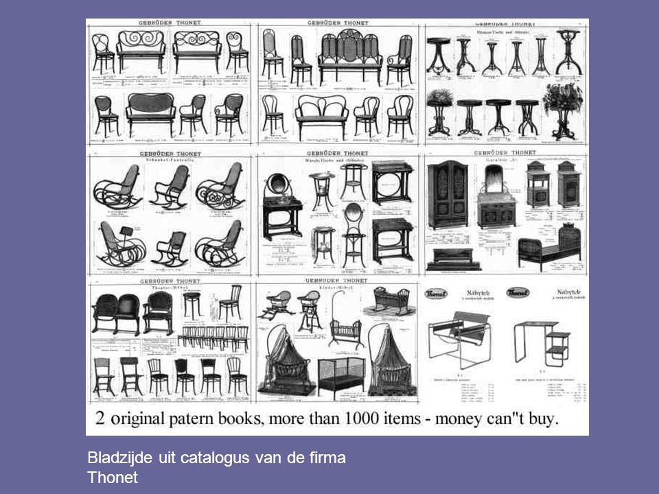 Gebroeders Thonet: Stoel no. 14, De Weense caféstoel, 1859