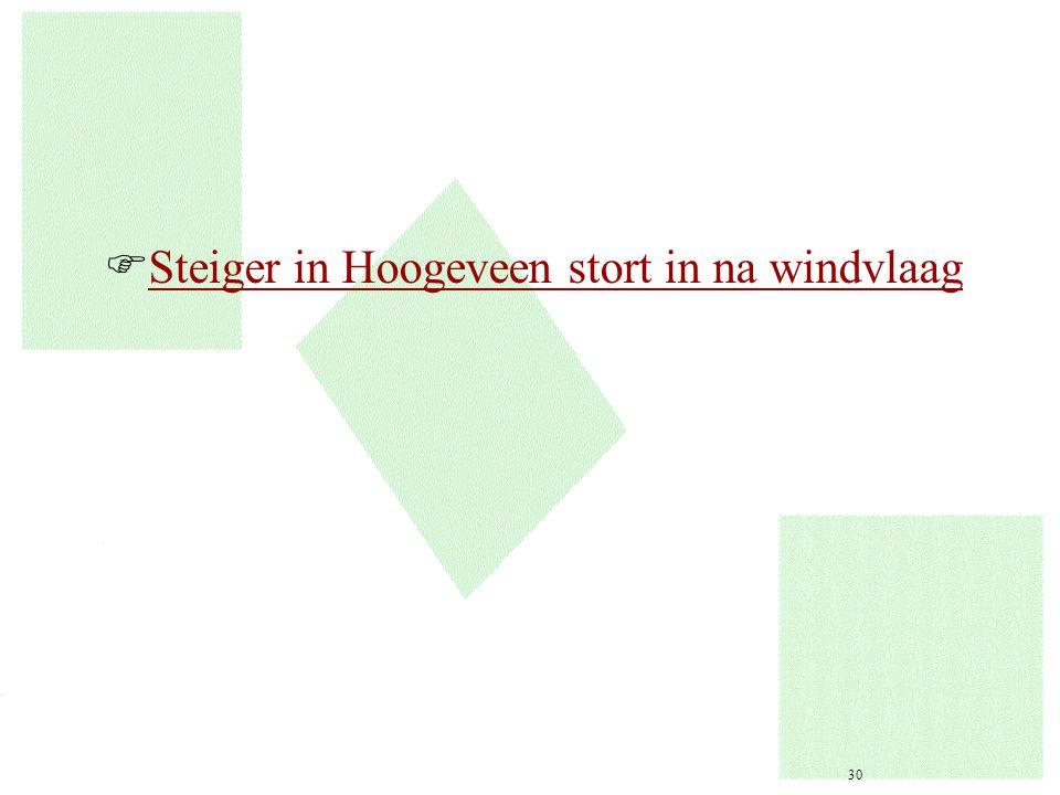 FSteiger in Hoogeveen stort in na windvlaagSteiger in Hoogeveen stort in na windvlaag 30