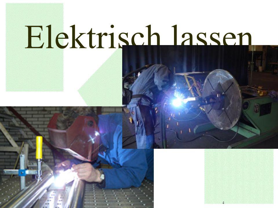Gevaren bij elektrisch lassen 5 Longaandoeningen Vergiftiging Door inademen van lasrook