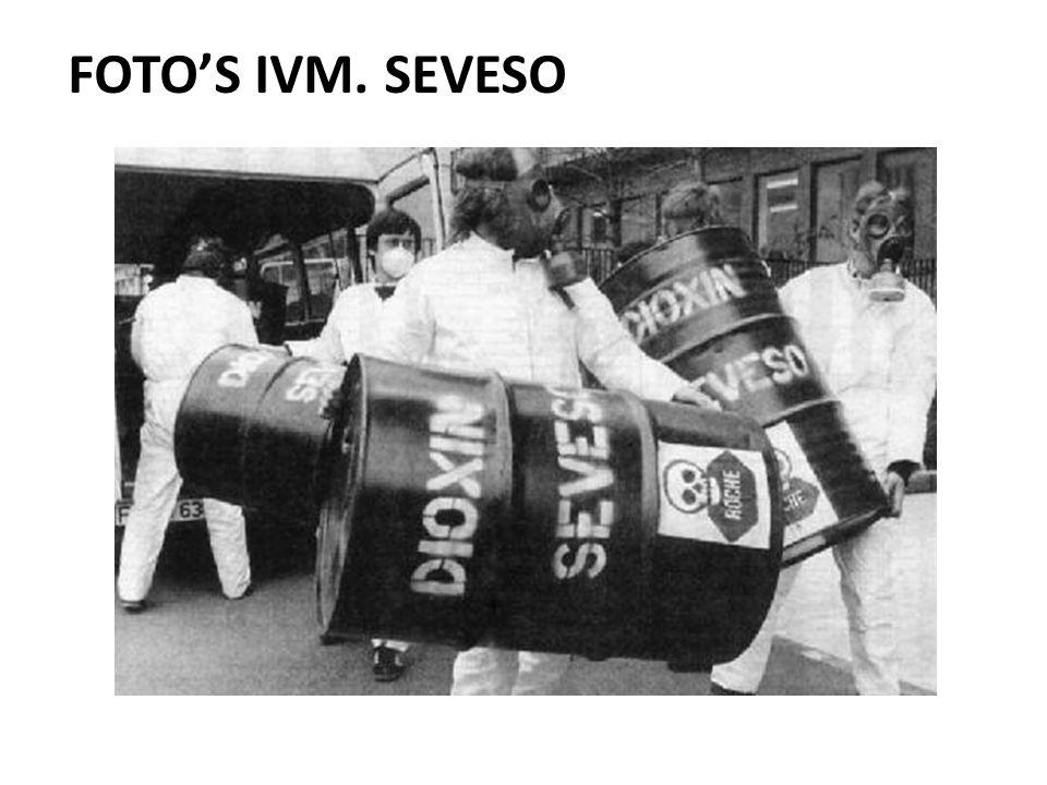 FOTO'S IVM. SEVESO