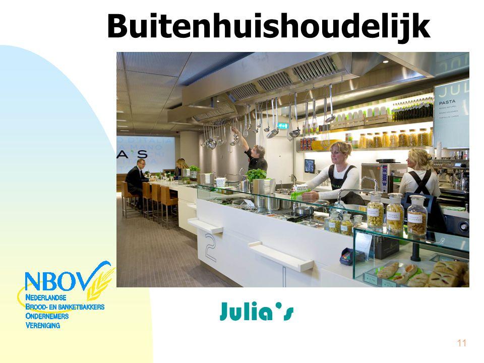 Buitenhuishoudelijk Julia's 11