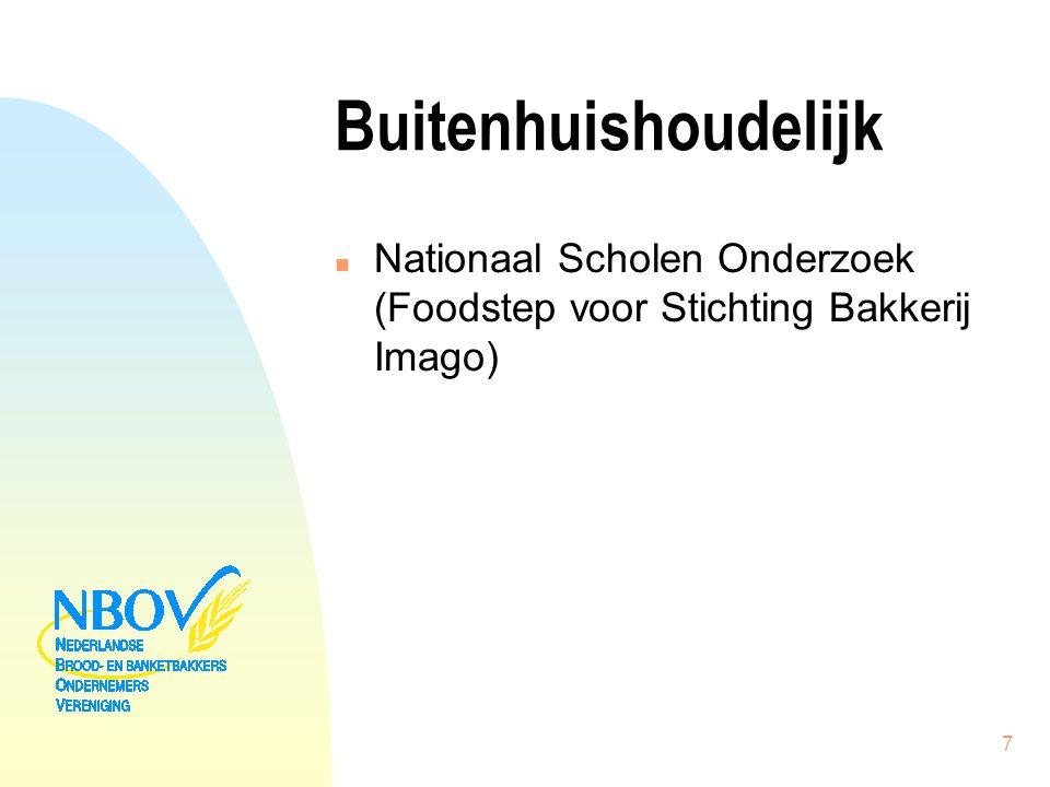 Buitenhuishoudelijk n Nationaal Scholen Onderzoek (Foodstep voor Stichting Bakkerij Imago) 7
