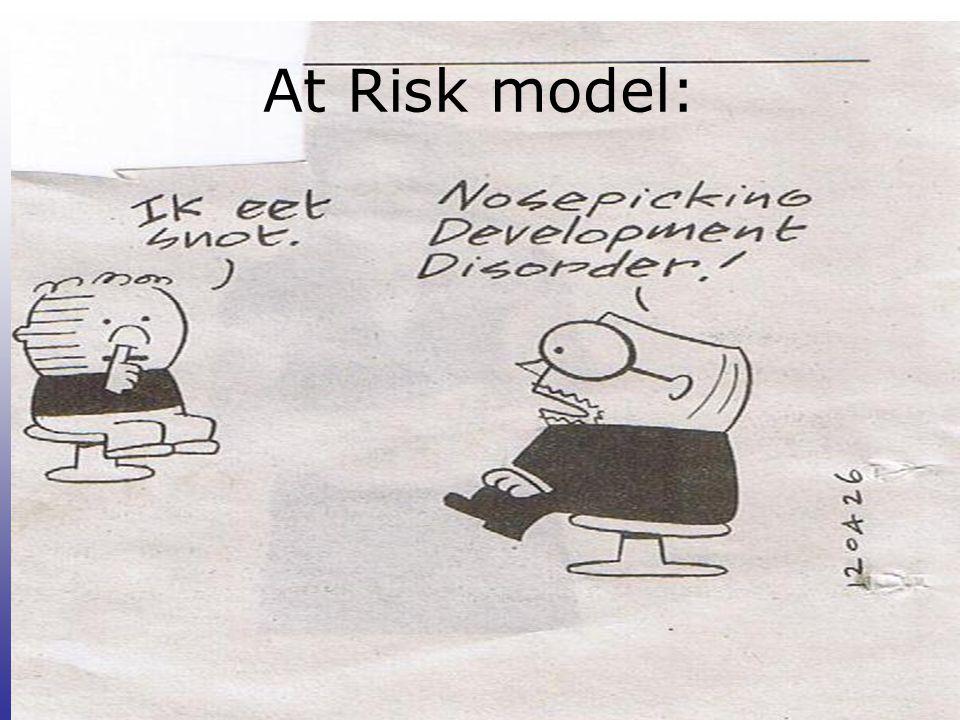 At Risk model: