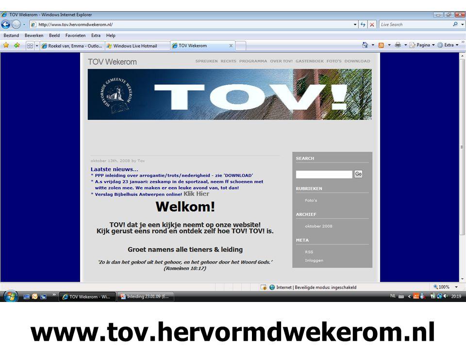 www.tov.hervormdwekerom.nl