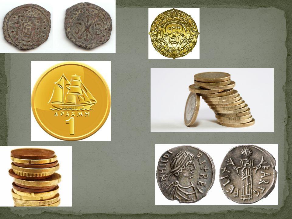 Maak een schets van je munt.