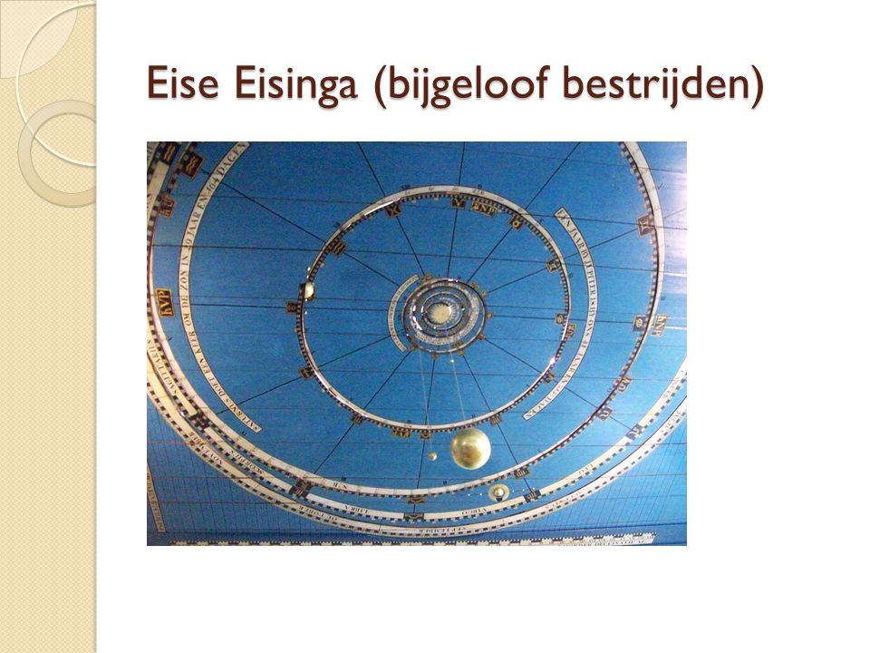 Eise Eisinga (bijgeloof bestrijden)
