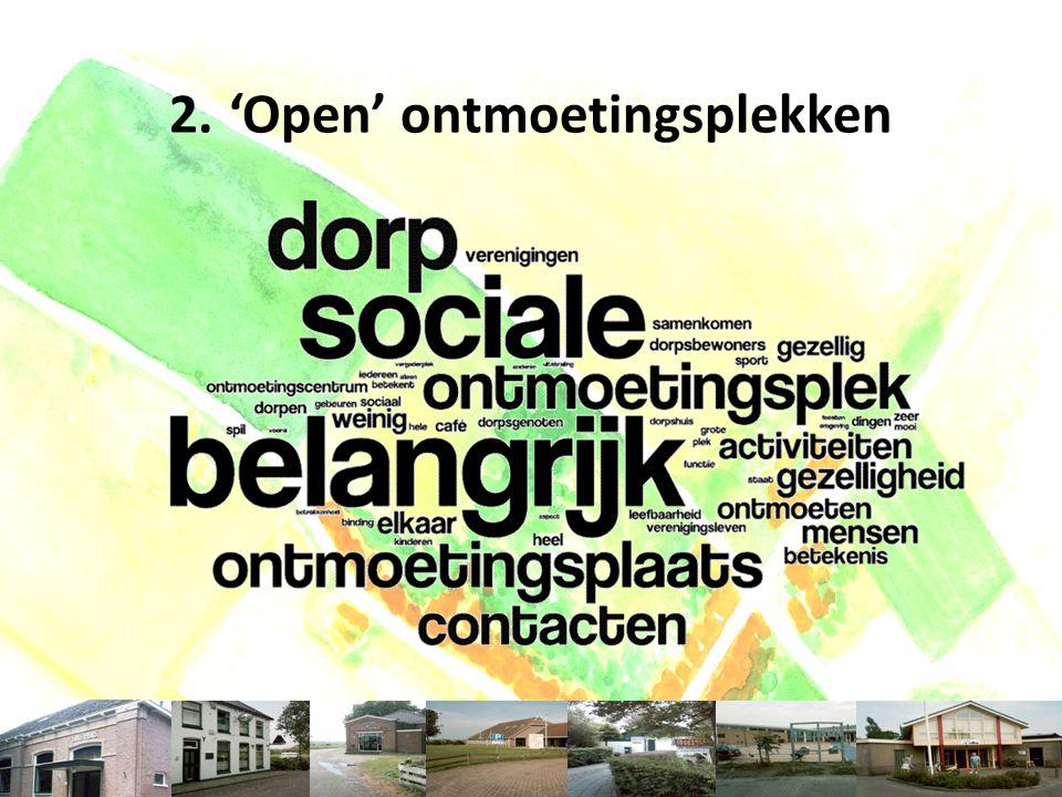 U NIVERSITEIT VAN A MSTERDAM 2.'Open' ontmoetingsplekken Veranderende dorpen - Zeddam - 6 september 2014