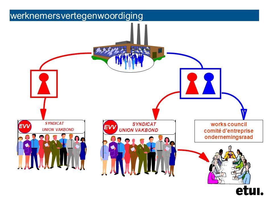 werknemersvertegenwoordiging nationaal sector bedrijf most important level of collective bargaining le niveau le plus important pour les négociations collectives belangrijkste onderhandelingsniveau