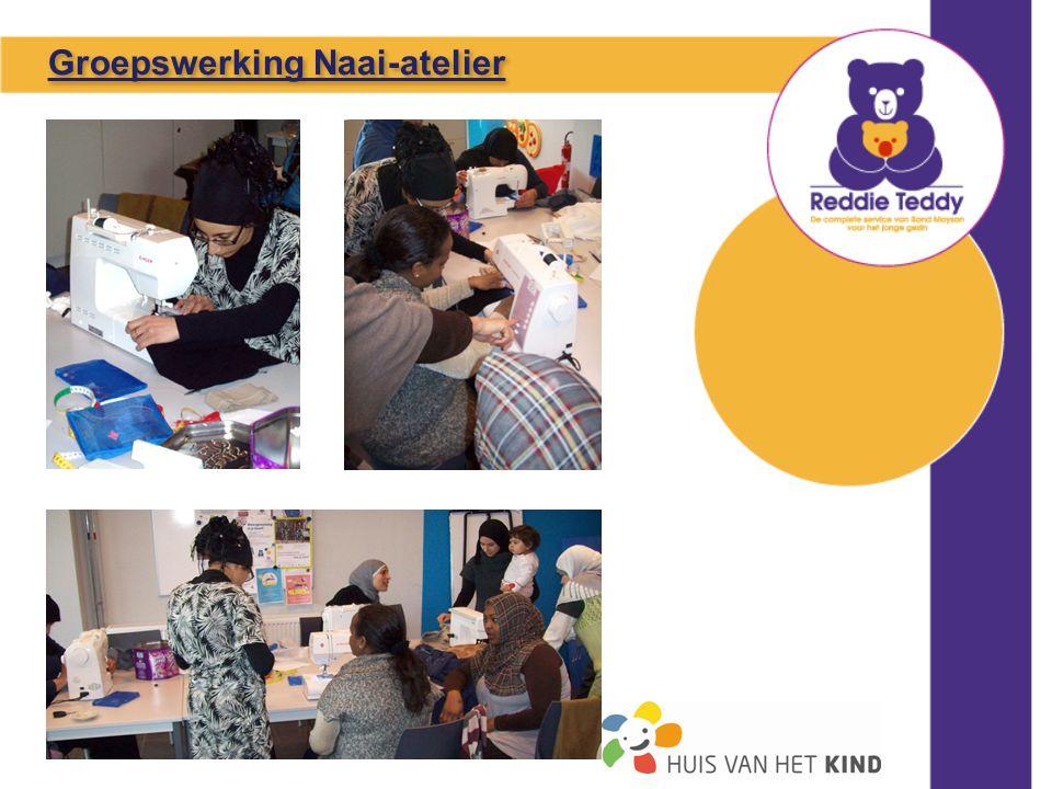 Groepswerking Naai-atelier