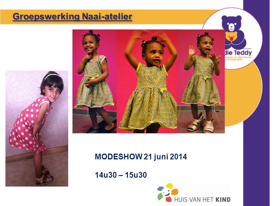 MODESHOW 21 juni 2014 14u30 – 15u30