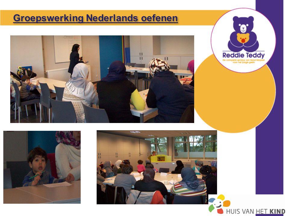 Groepswerking Nederlands oefenen