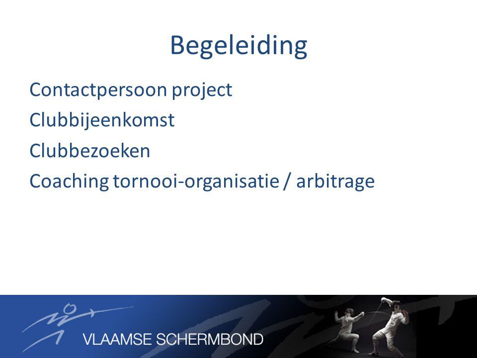 Integratie in werking VSB Combo met kaderopleiding Piramide → Competitie → Topsport Visibiliteit van het project