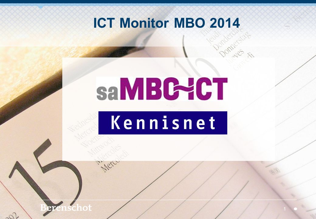 ICT Monitor MBO 2014 1
