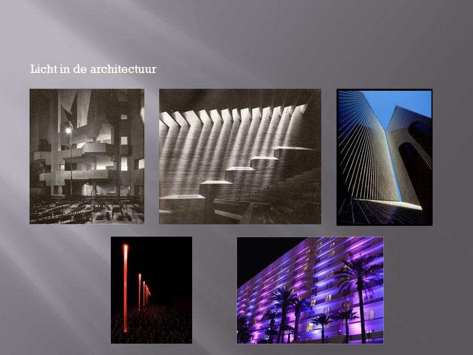 Licht in de architectuur