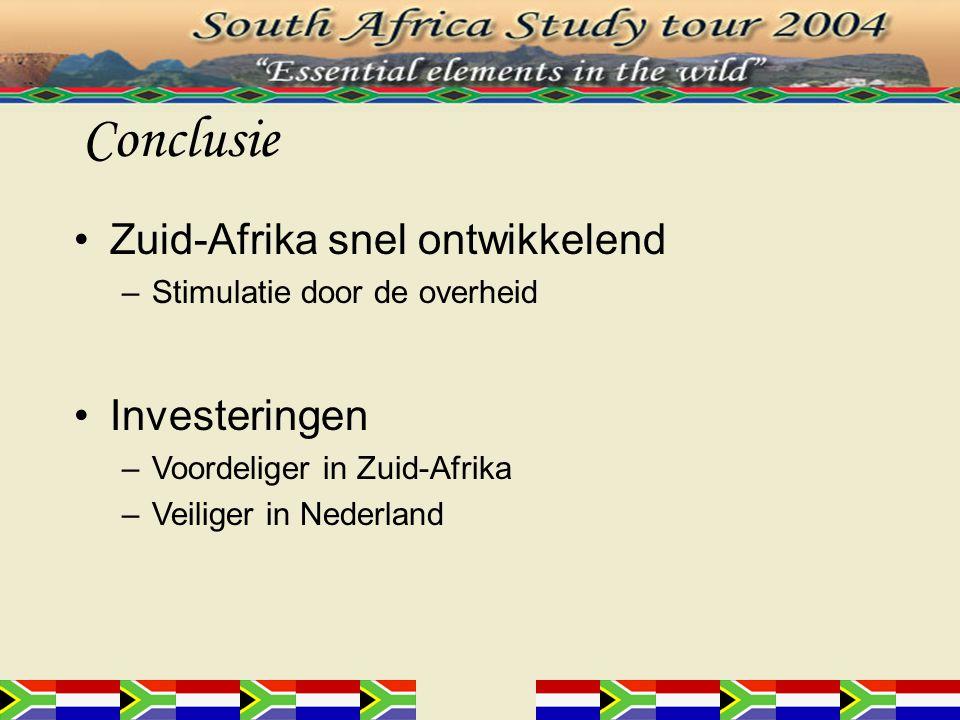 Stellingen 1.Zuid-Afrika is een corrupter land omdat het armer is dan Nederland.
