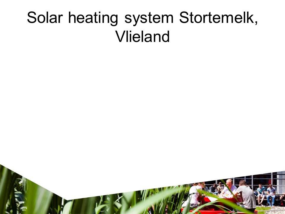Solar heating system Stortemelk, Vlieland
