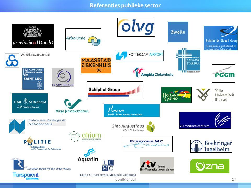 17 Referenties publieke sector Confidential